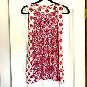 Anthropologie Rose & Olive Flowy Tank Top S
